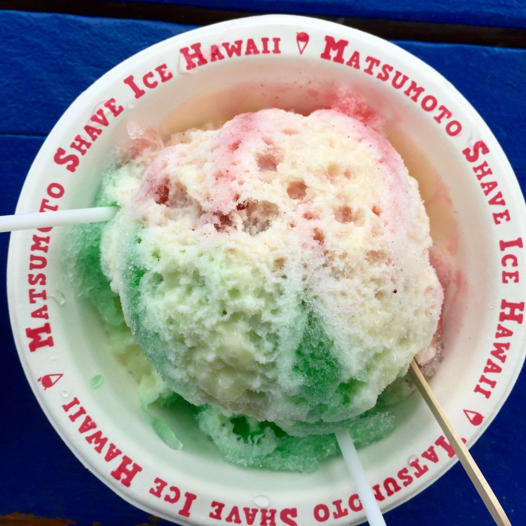 Matsumoto's Shave Ice on Oahu's North Shore, Hawaii