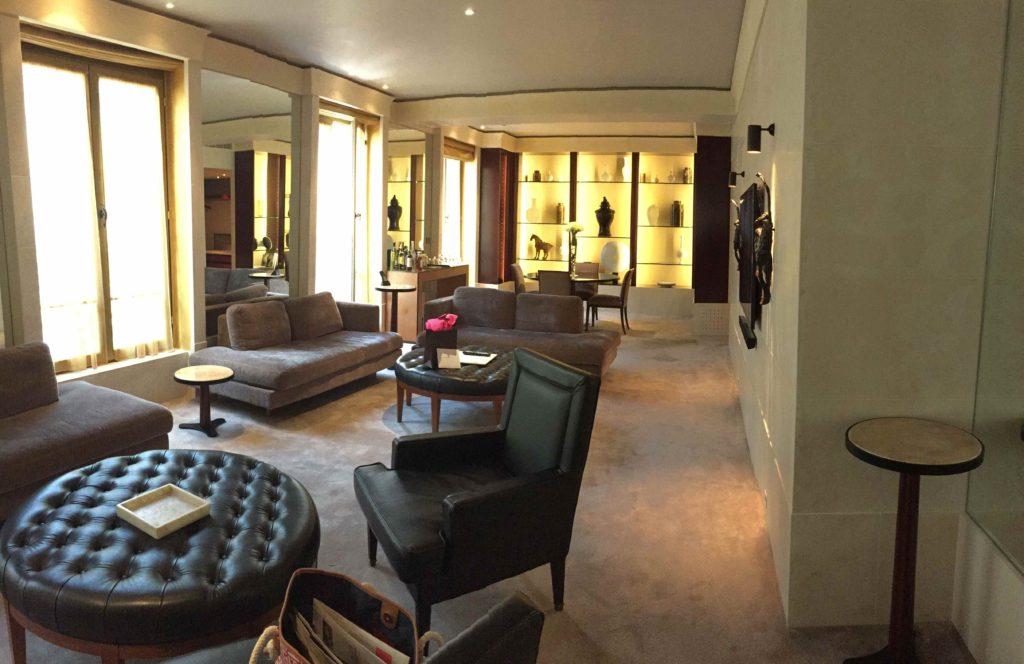 Ambassador Suite at the Park Hyatt Place Vendome, Paris, France